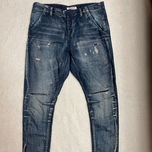 One X One Teaspoon Low Rise Relaxed Sz 28 Jeans